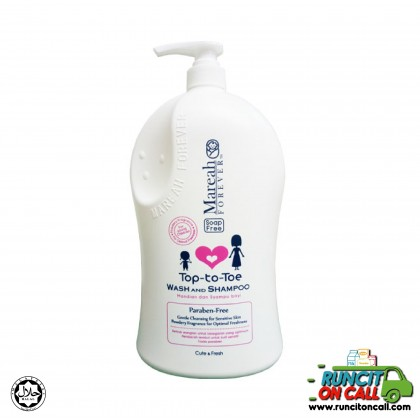 MAREAH FOREVER TOP-TO-TOE, WASH & SHAMPOO - CUTE & FRESH